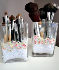 wonderful makeup brushes holder ideas 11