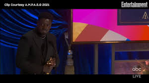 Daniel Kaluuya wins Best Supporting Actor for Judas and the Black Messiah  at 2021 Oscars
