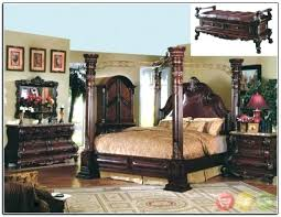 Rooms To Go King Canopy Bed