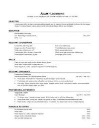 Sample Internship Resume Modern Day Picture 13 290 375 Marevinho