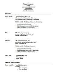 writing resignation - How To Write Good Resume