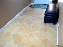 Herringbone Inserted Travertine Tile