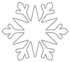 Christmas Snowflakes Template Metabots Co