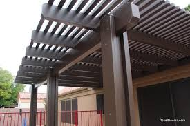 after wooden patio cover replacement in gilbert az wood covers c43 wood