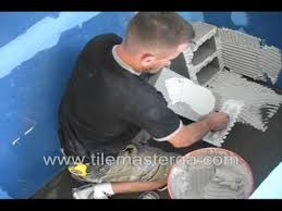 how to build waterproof shower bench seat installation from scratch cement blocks you