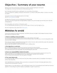 resume proffesional writing objectives in resume resume appealing good resume summary lines write effective resume summarywriting writing objectives for resume