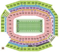 Lincoln Financial Field Seating Chart Philadelphia