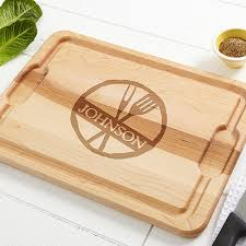 personalized wood cutting boards family brand 14784