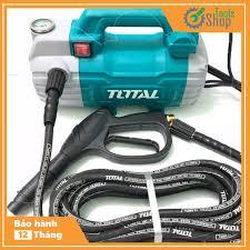 Máy xịt rửa xe Total TGT11236 - 1500W - Tặng bình phun xà bông