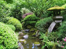Lawn & Garden:Amazing Large Koi Pond With Bridge In Japanese Garden Design  Ideas Perfect