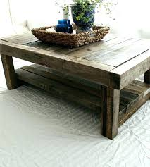 rustic reclaimed wood coffee table designs yonder years pine canopy kaibab tabl
