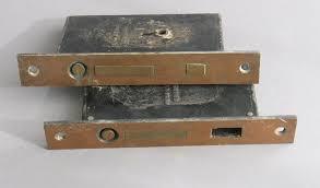 antique corbin pocket door lock baldwin door hardware reclaimed doors