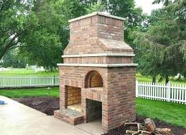 fireplace pizza oven outdoor wood fired by ovens combo plans combination fireplac