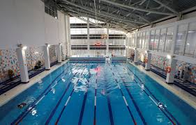 public swimming pool. Wonderful Pool An Interior View Shows A Swimming Pool Of The School Olympic Reserve  Which Was Chosen Throughout Public Swimming Pool