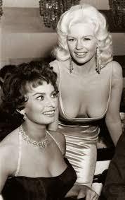29 best Sophia Loren. Jayne Mansfield. Beverly Hills Hotel 1957.