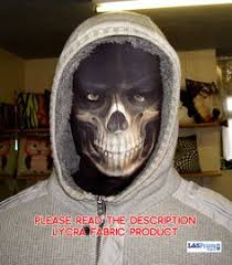 dels about new year party grim reaper fabric full face mask fancy dress party