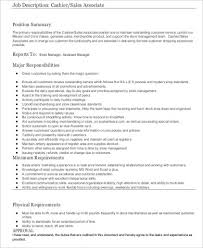 Cashier Resume Sample 8 Examples In Word Pdf