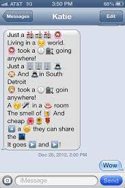 what do 13 year old s text about