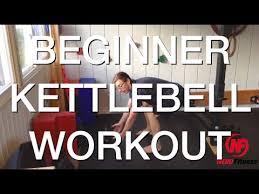 Kettlebell Workout 20 Minute Beginner Routine Worksheet