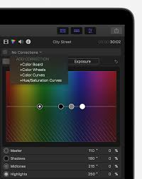 Use Color Correction Tools In Final Cut Pro X And Motion