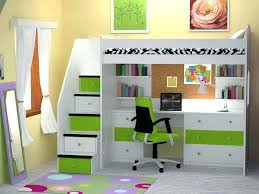 bed with office underneath. bunk bed office underneath chic loft with desk plans green and white cor o