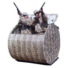 otter outdoors 2 man pro haybale blind