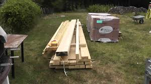 Tutoriel Construction Porche Charpente Toiture Youtube