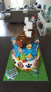 Paw Patrol Bubble Guppies Pirate Ship And A Shark Birthday