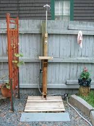 simple outdoor shower ideas outdoor shower designs backyard ideas simple but effective easy outdoor shower ideas