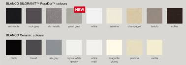 Blanco Sink Colors Chart Inspiring Ideas Blanco Sink Colors Granite Image And Toaster