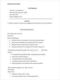Resume Template For Accounting Click Here To Download This