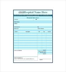 Dental Invoice Template Classy Dentist Receipt Dental Invoice Template Excel Dental Invoice