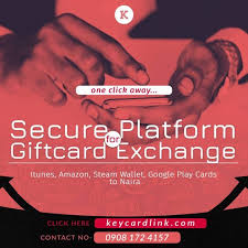 keycardlink is a platform for secure exchange of various gift cards such as itunes gift card amazon gift card steam wallet google play cards etc for