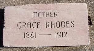 Rhodes, Grace | City of Grove Oklahoma