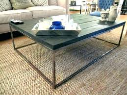 restoration hardware coffee table modern marble plinth decor