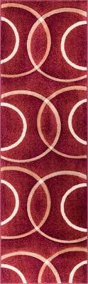 geometric rug pattern. Chester Red Modern Geometric Rug Pattern R