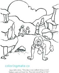 Good Samaritan Coloring Page Packed With Good Coloring Pages Page