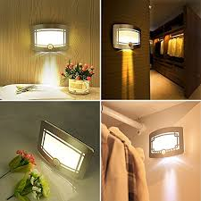 lighting wireless. LED Silver Wall Lights Wireless Stick Anywhere Battery Powered Sconce Spot Light Bathroom Lighting 6