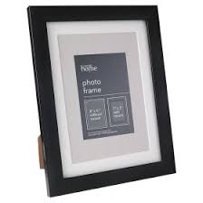 george home plastic photo frame black 7x5 undefined