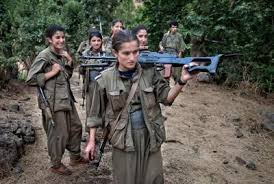 Image result for female kurdish soldier