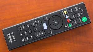 sony tv power cable. the included remote could easily be mistaken for a sony television remote, with its rectangular profile and dozens of buttons. because soundbar has tv power cable