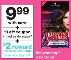 Choose one of our templates and tweak it. New Schwarzkopf Hair Color Coupon Walgreens Deal Familysavings
