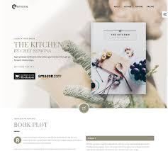 Book Author Website Design Top Minimal Authors Publishers Online Book Store Wordpress
