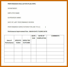 7 8 Sample Evaluation Forms Resumetablet