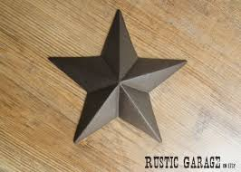 Metal Star Wall Decor Texas Star Etsy
