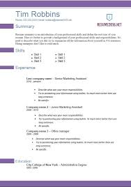 Career Builder Resume Template Fascinating Resume Template 48 Violette Resume Career Builder Resume Format