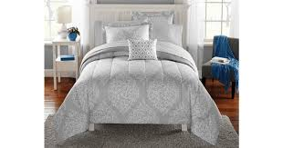 check out this amazing clearance find on this beautiful mainstays leaf medal bed in a bag bedding set only 5 reg 49 82
