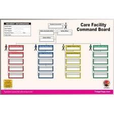 Mci Ics Chart Care Facility Dry Erase Command Board Dry Erase Board