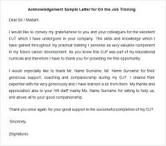 13 Examples Of Acknowledgement Letters Ledger Form