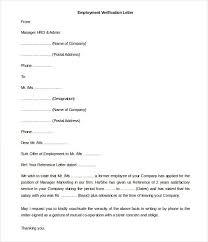 Free Employment Verification Letter Template 3 Lafayette Dog Days